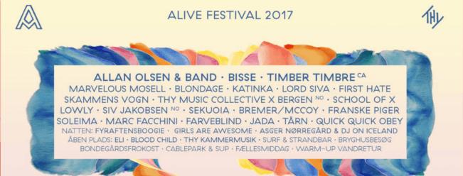 Alive Festival 2017