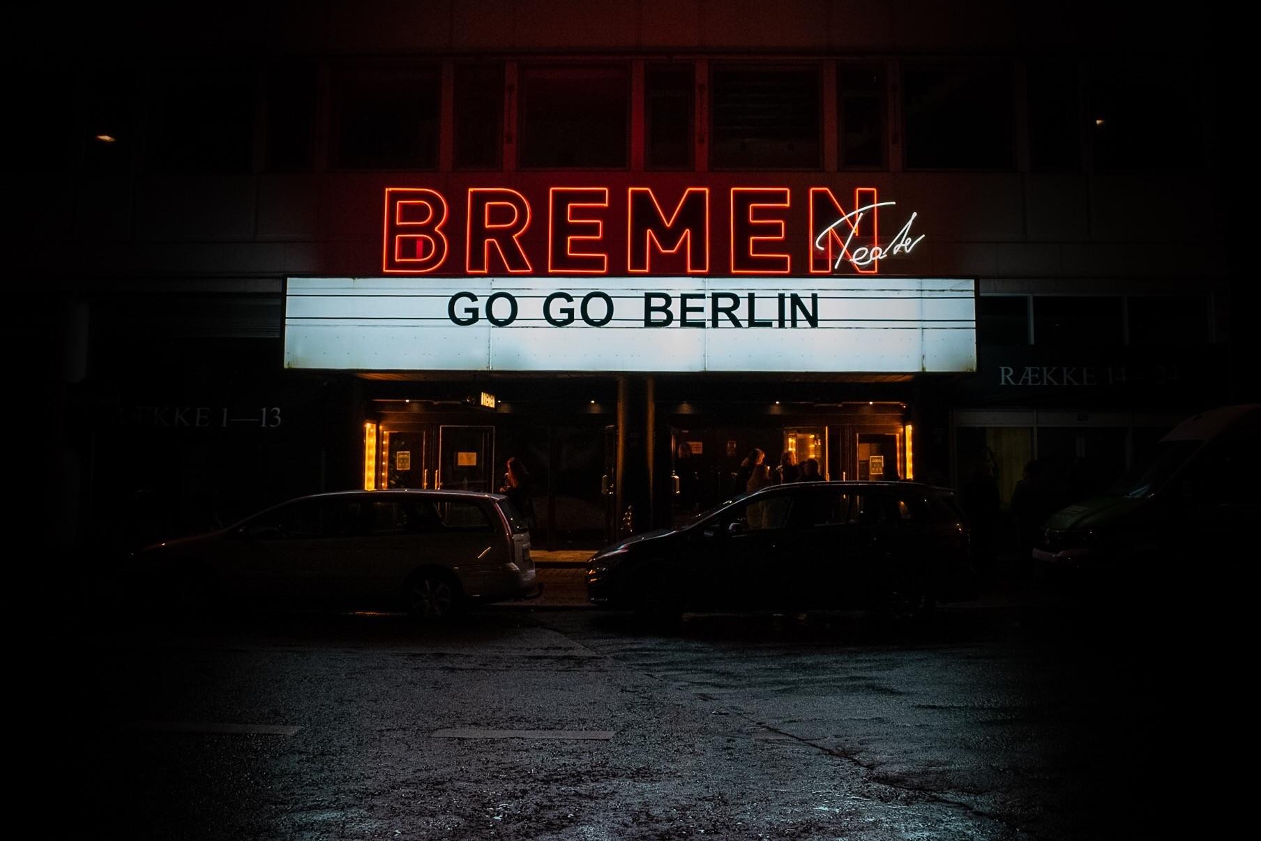 Go Go Berlin at the Bremen Theatre - 10.10.2020